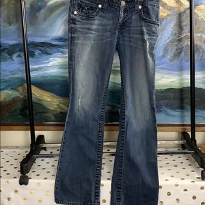 Big star luv boot cut jeans size 30r